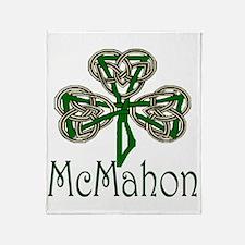 McMahon Shamrock Throw Blanket