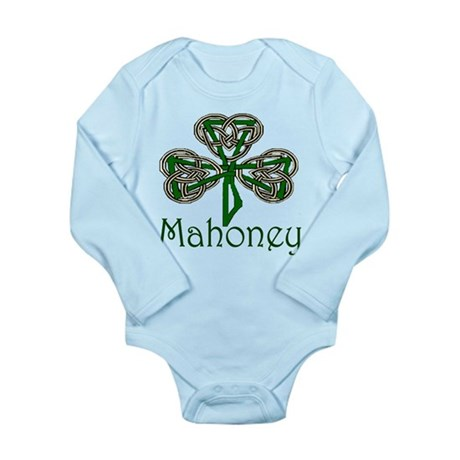 Mahoney Shamrock Long Sleeve Infant Bodysuit