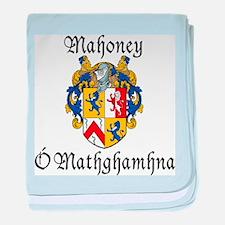 Mahoney In Irish & English baby blanket