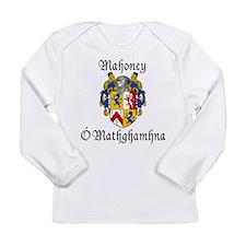 Mahoney In Irish & English Long Sleeve Infant T-Sh