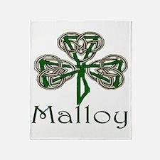 Malloy Shamrock Throw Blanket