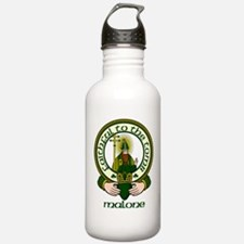 Malone Clan Motto Water Bottle