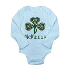McManus Shamrock Long Sleeve Infant Bodysuit