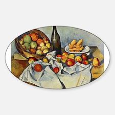 Basket of Apples Sticker (Oval)
