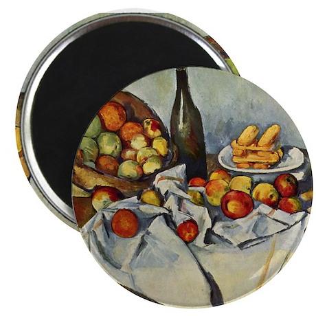 """Basket of Apples 2.25"""" Magnet (10 pack)"""