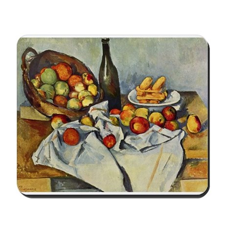 Basket of Apples Mousepad
