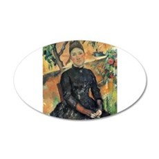 Madame Cezanne 22x14 Oval Wall Peel