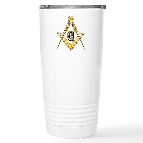 Masonic Stainless Steel Travel Mug