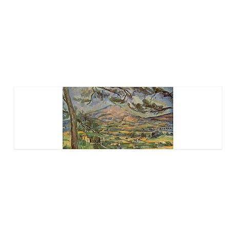 Mont Sainte Victoire 42x14 Wall Peel