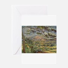 Mont Sainte Victoire Greeting Card