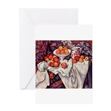 Still Life with Apples and Or Greeting Card