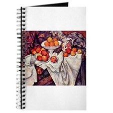 Still Life with Apples and Or Journal