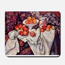 Still Life with Apples and Or Mousepad