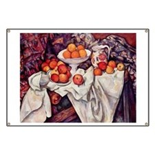 Still Life with Apples and Or Banner