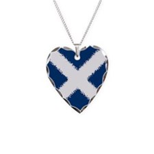 Scottish Flag Necklace