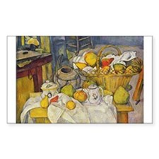 Still Life with Fruit Basket Decal