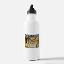 Still Life with Fruit Basket Water Bottle