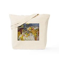 Still Life with Fruit Basket Tote Bag