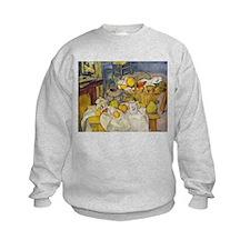 Still Life with Fruit Basket Sweatshirt