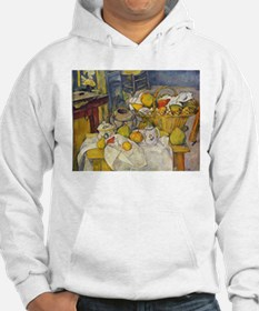 Still Life with Fruit Basket Hoodie