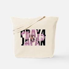 Pray 4 Japan Tote Bag