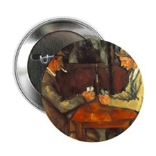 """The Cardplayers 2.25"""" Button"""