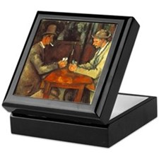 The Cardplayers Keepsake Box