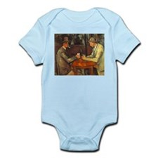 The Cardplayers Infant Bodysuit