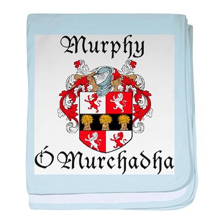 Murphy In Irish & English baby blanket