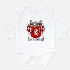 McNamara Coat of Arms Long Sleeve Infant Bodysuit