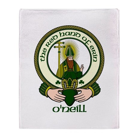 O'Neill Clan Motto Throw Blanket