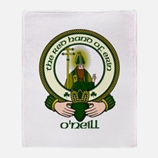 O'Neill Clan Motto Throw Blanket