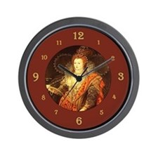 Unique Queen of england Wall Clock