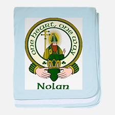 Nolan Clan Motto baby blanket