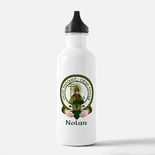 Nolan Clan Motto Water Bottle