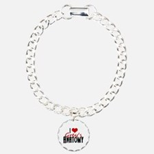 I Love Grey's Anatomy Charm Bracelet, One Charm