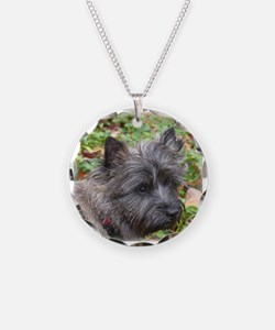 Young Cairn Terrier Necklace