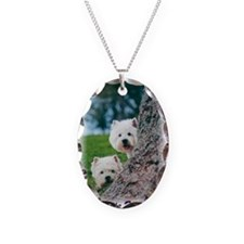 Westie Watch Necklace