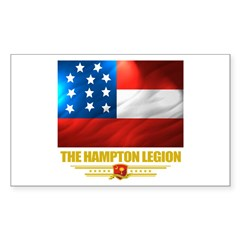The Hampton Legion Sticker (Rectangle 10 pk)