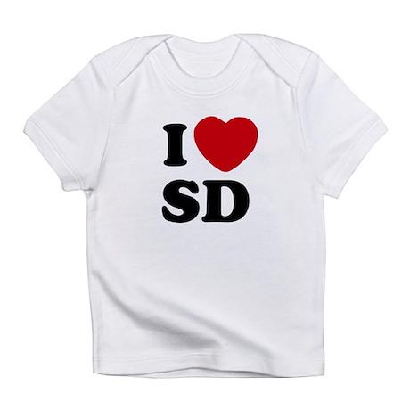 I Heart SD San Diego Infant T-Shirt