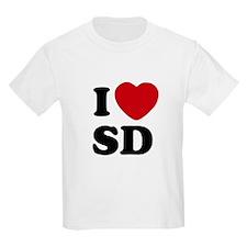 I Heart SD San Diego T-Shirt