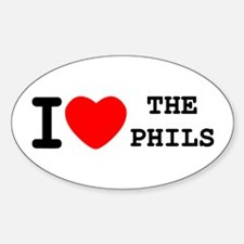 I Heart The Phils Decal