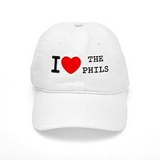 I Heart The Phils Baseball Cap