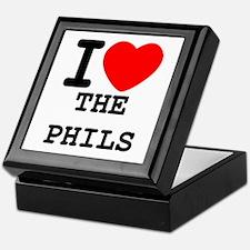 I Heart The Phils Keepsake Box