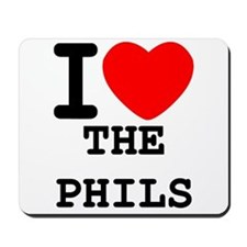 I Heart The Phils Mousepad