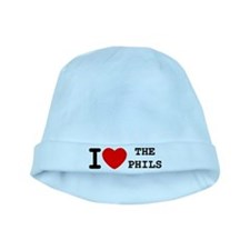 I Heart The Phils baby hat