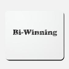 Vintage Bi-winning 2 Mousepad