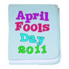 2011 April Fool's Day baby blanket
