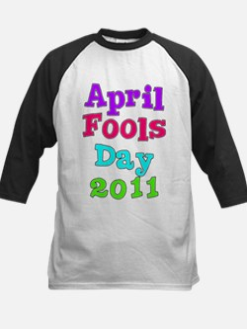 2011 April Fool's Day Kids Baseball Jersey