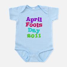 2011 April Fool's Day Infant Bodysuit